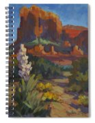 Courthouse Rock Sedona Spiral Notebook
