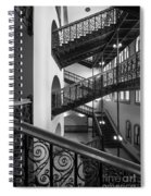 Courthouse Staircases Spiral Notebook
