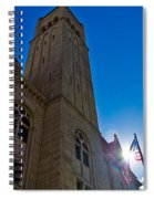 Courthouse Tower Spiral Notebook