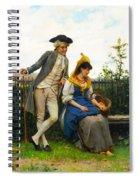 Courtship Spiral Notebook