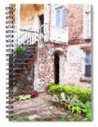 Courtyard Spiral Notebook