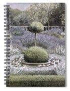 Courtyard Garden Spiral Notebook