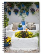 Courtyard With Washing Boards Spiral Notebook