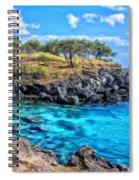 Cove At Mahukona Spiral Notebook