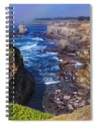 Cove On The Mendocino Coast Spiral Notebook