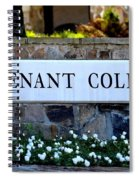 Covenant College Sign Spiral Notebook