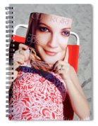 Cover Girl Spiral Notebook