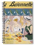 Cover Illustration From La Baionnette Spiral Notebook