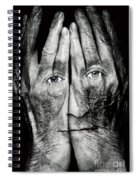 Cover Thy Faces Spiral Notebook