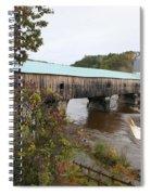 Covered Bridge  Bath Spiral Notebook