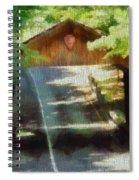 Covered Bridge In Sleeping Bear Dunes National Lakeshore Spiral Notebook