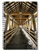 Covered Bridge Littleton New Hampshire Spiral Notebook