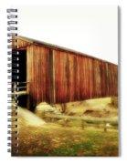 Covered Bridge Magic Spiral Notebook