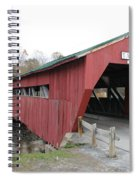 Covered Bridge Taftsville Spiral Notebook