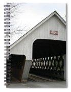Covered Bridge - Woodstock Spiral Notebook