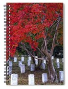 Covered In Fall Colors Spiral Notebook