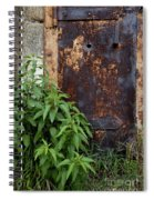 Covered In Rust Spiral Notebook