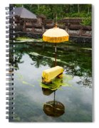 Covered Stones With Umbrella In Ritual Spiral Notebook