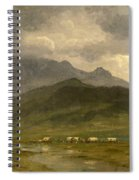 Covered Wagons Spiral Notebook