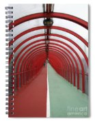 Covered Walkway 01 Spiral Notebook
