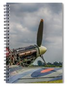 Covers Off Hawker Hurricane Spiral Notebook