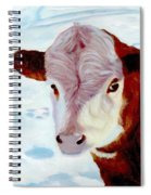 Cow A Bunga Spiral Notebook
