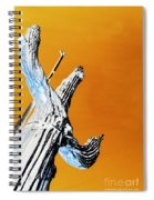 Cow Boy Inverted Spiral Notebook