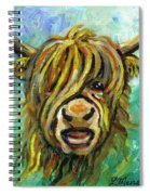 Cow Face 101 Spiral Notebook