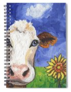 Cow Fantasy One Spiral Notebook