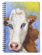 Cow Fantasy Three Spiral Notebook