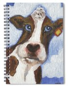 Cow Fantasy Two Spiral Notebook
