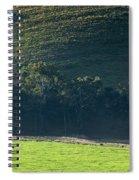 Cow In Field Spiral Notebook