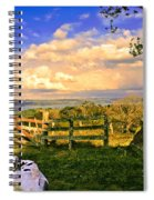 Cow Out To Pasture In Costa Rica Spiral Notebook