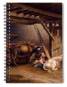 Cow Shed Spiral Notebook