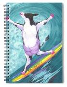 Cowabunga Spiral Notebook