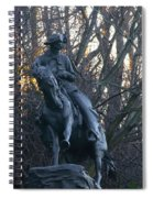 Cowboy 1908 By Frederic Remington Spiral Notebook