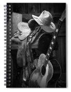 Cowboy Acoustic Guitar Spiral Notebook