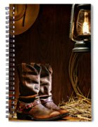 Cowboy Boots At The Ranch Spiral Notebook