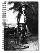 Cowboy, C1880 Spiral Notebook