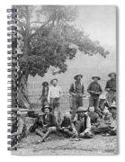 Cowboy Camp, C1890 Spiral Notebook