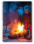 Cowboy Campfire Spiral Notebook