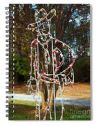 Cowboy Christmas Spiral Notebook