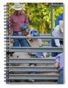 Cowboy Countdown Spiral Notebook