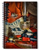 Cowboy - The Sheriff Spiral Notebook
