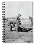 Cowboys, 1888 Spiral Notebook