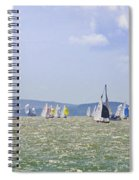 Cowes Week Isle Of Wight Spiral Notebook