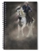 Cowgirl And Knight Spiral Notebook