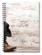 Cowgirl Boots Spiral Notebook