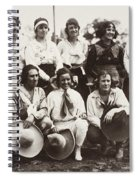 Cowgirls, 1910 Spiral Notebook