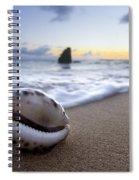Cowrie Sunrise Spiral Notebook